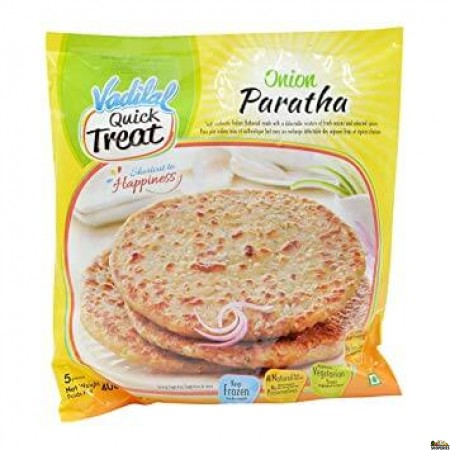 Vadilal Treats Onion Paratha (Frozen) - 400 Gms