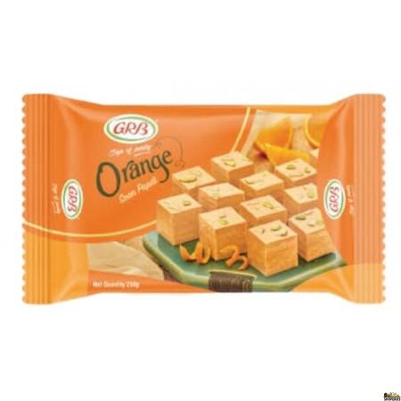 GRB Orange Soan Papdi - 500g