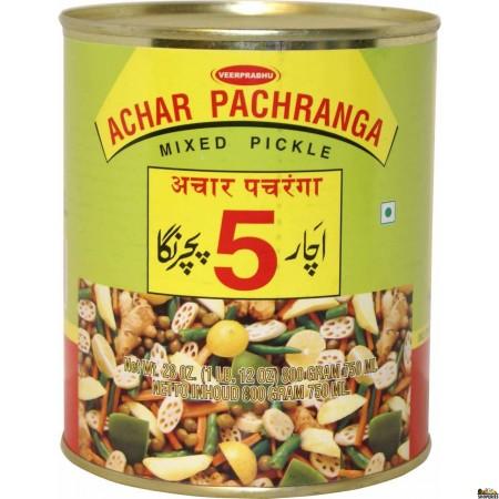 Pachranga Mixed Pickle - Tin  800 gm