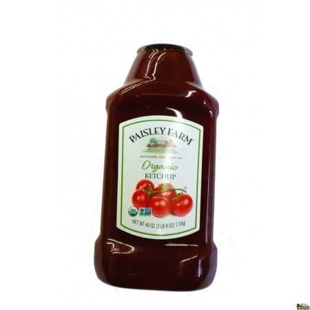 Paisley Farms Organic Ketchup - 40 Oz