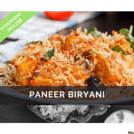 Hyderabad House Paneer Biryani