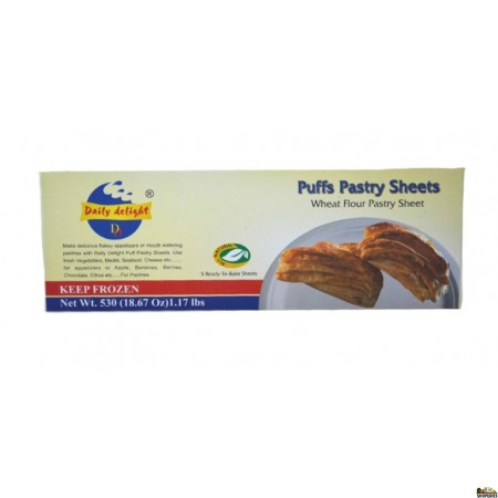 Daily Delight Puffs pastry sheets - 18.67 Oz