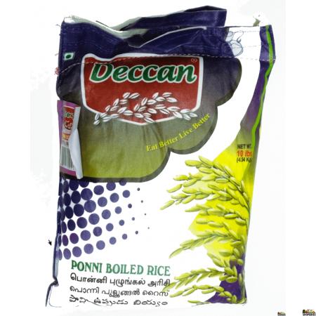 Deccan Ponni Boiled Rice - 20 lb