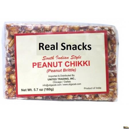 Real Snacks Peanut Candy (chikki) - 100g