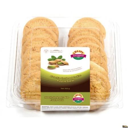 Twi Crispy Pistachio Short Bread cookies - 350 g