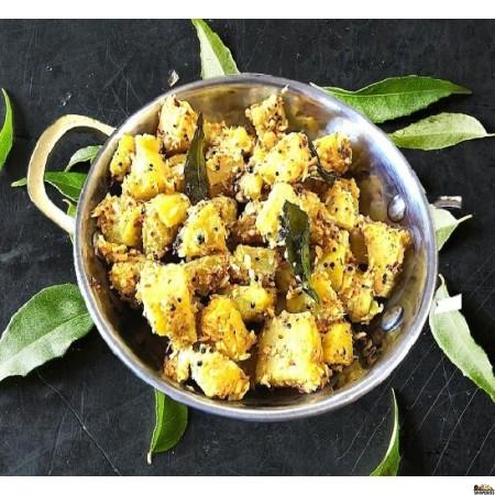 {{vegan}} Adyar Kitchen Plantain Poriyal - 24 Oz