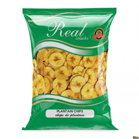 Real Crispy Plantain Chips - 300 Gm