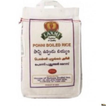 laxmi Ponni Boiled Rice - 20 lb