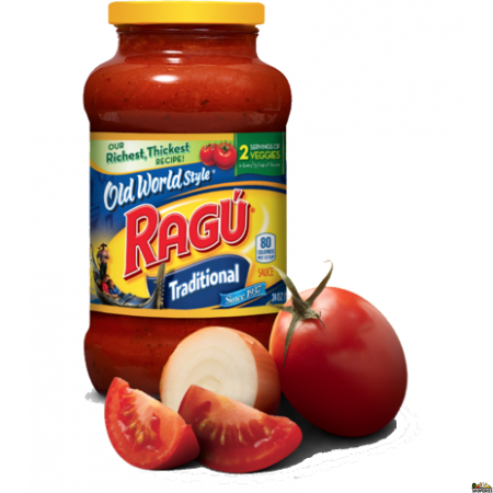 Ragu Tomato,Garlic and Onion Pasta Sauce - 24 Oz