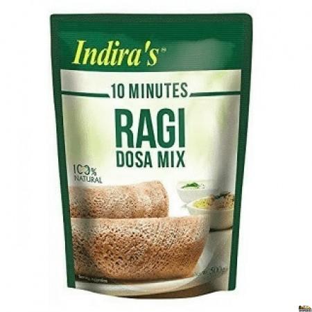 Indira Ragi Dosa Mix - 500gm