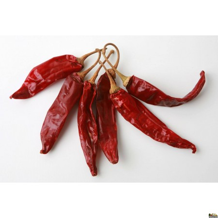 Dry whole Red Chillies - 3.5 Oz