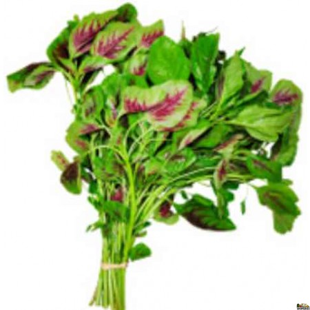 Red Leaves Spinach (Thotakura / Amaranth) - 1 Bunch (0.75lb approximate)