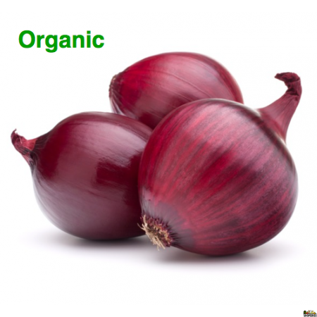Organic Red Medium Onion - 3 lb
