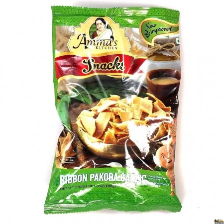 Ammas Kitchen Ribbon Pakoda garlic  - 200g