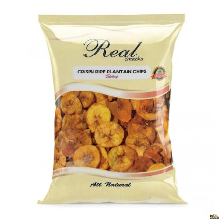 Real Ripe Plantain Chips Spicy - 300 Gm