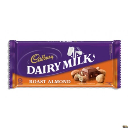 Cadbury Roasted Almond Chocolate bar - 3.5 Oz