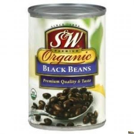 S&W Organic Black Beans