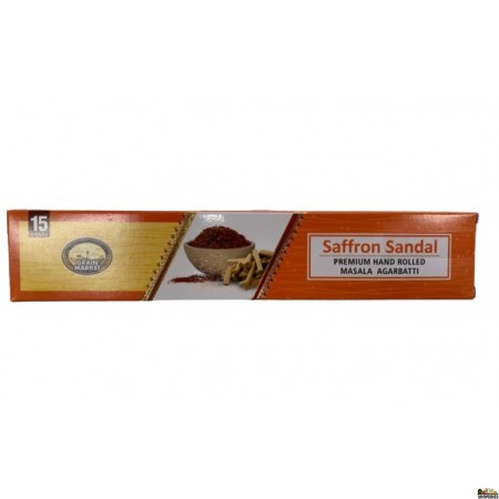 GM Saffron Chandan Incense Sticks - 1 Small Box