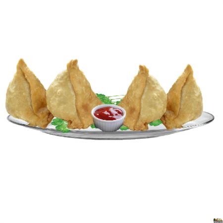 Chutneys Freshly Made Samosa {{veg}} - 4 Count