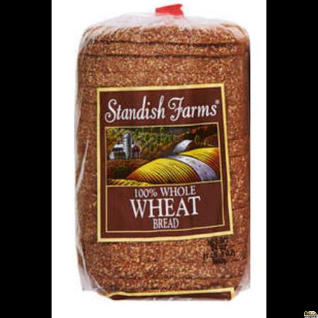 Standish Farms 100% Whole Wheat Bread - 24 Oz