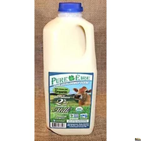 Pure Eiree Grass Fed VAT Pasturized 2% Milk 1/2 Gal (Pre-order)