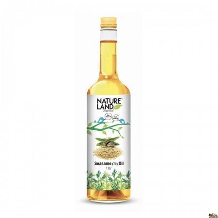 Nature Land Organic Sesame Oil - 1 litre