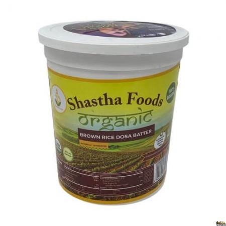 Shastha Organic Brown Rice Dosa Batter - 32 Oz