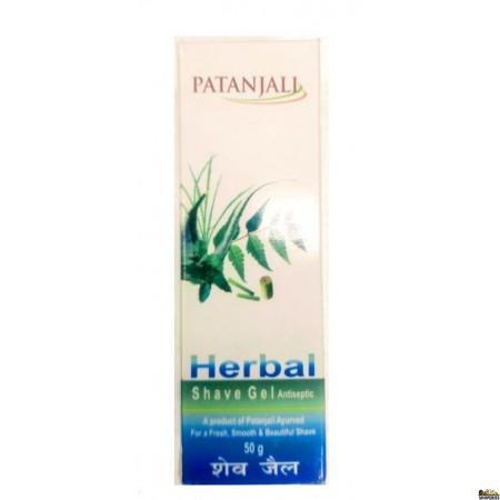Patanjali Herbal Shaving Gel  - 50 mg