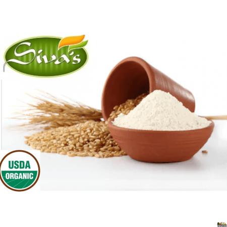 Siva Organic Whole Wheat Atta - 20 lb