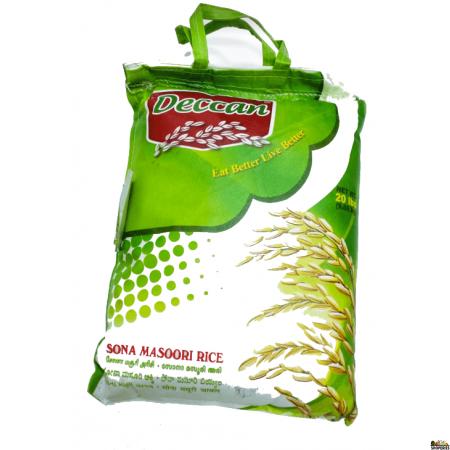 Deccan Sona Masoori Rice - 10 lb (MEDIUM bag)