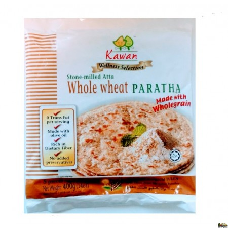 Kawan Paratha Whole Wheat (Whole Grain) - 25 pcs
