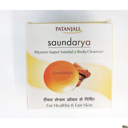 Patanjali Saundarya Mysore Sandal Body Cleanser Soap