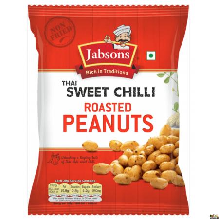 Jabson Thai Sweet Chilli Peanuts 140g