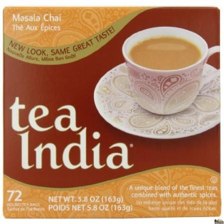 Tea India black tea bags - 72 Cnt