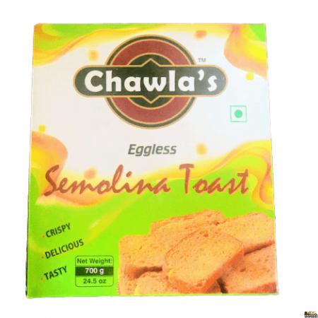 Chawla's Rusk Toast eggless - 700g