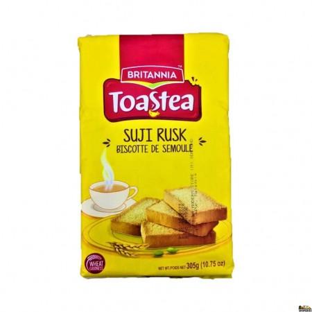 Britannia Biscuit Semolina / Wheat Rusk Toasted - 10.7 Oz