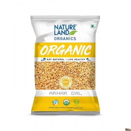ORGANIC Nature Land Toor Dal/arhar Dal - 5 lb