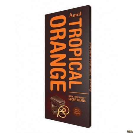 Amul Tropical Orange Chocolate 150 Gms