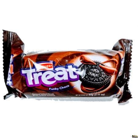 Britannia Treat Funky Choco Buscuits - 2.5 Oz