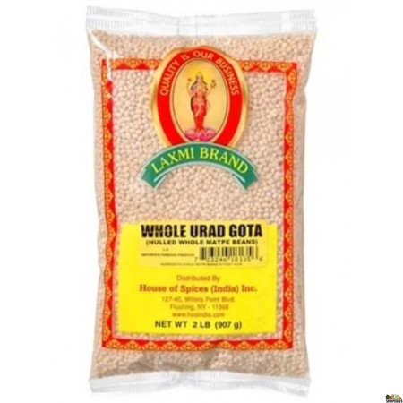 Urad Whole Gotta (White) - 2 LB