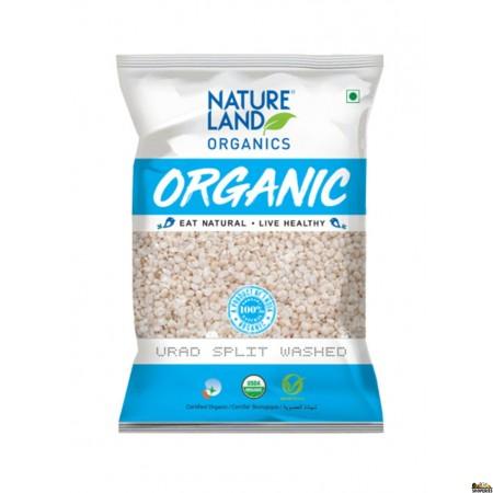 Nature Land ORGANIC Urad Dal Split (White) - 5 lb