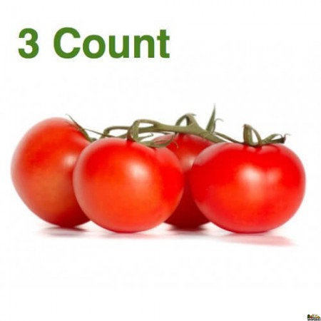 Organic Tomatoes on the Vine  - ( 3 Count )