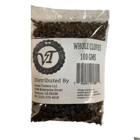 Venzu Whole Cloves - 3.5 Oz