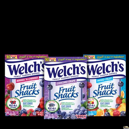 Welch Fruit Snacks 4 in 1 pack