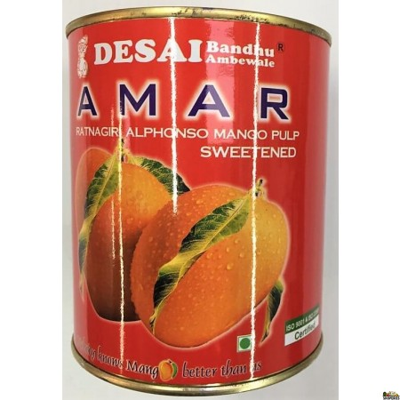 Amar Alphanso Mango Pulp - 850 gm