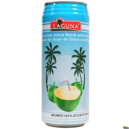 Laguna coconut juice drink with Pulp - 500ml