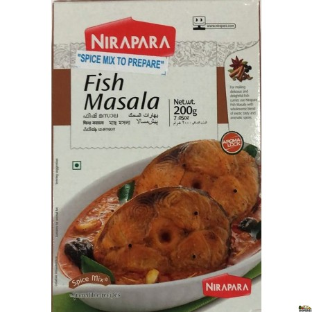 NIRAPARA Fish Curry Masala - 200g