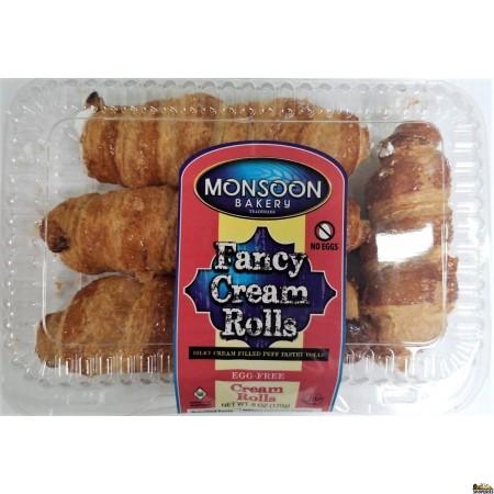 Monsoon Bakery Fancy Cream Rolls - 6oz