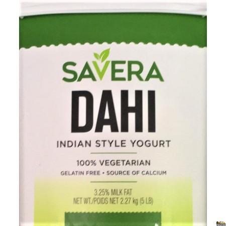 Savera Dahi Indian Style Yogurt - 5lb