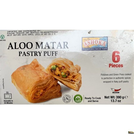 Ashoka Aloo Matar Pastry Puff - 6pcs